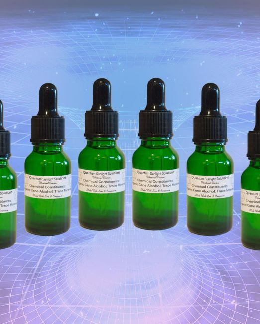 Quantum Sunlight Solutions - full set of tinctures